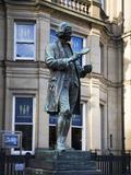 Statue of Joseph Priestley, City Square, Leeds, West Yorkshire, Yorkshire, England, United Kingdom, Photographic Print by Mark Sunderland