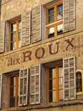 Old Advertising Sign on the Side of a Building, Aix-En-Provence, Bouches-Du-Rhone, Provence, France Photographic Print by Peter Richardson