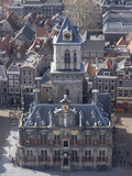 View over the City and the Stadhuis from the Viewing Platform of the Nieuwe Kerk (New Church), Delf Photographic Print by Ethel Davies
