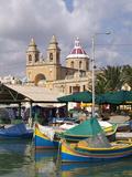 Marsaxlokk, Malta, Mediterranean, Europe Photographic Print by Hans-Peter Merten