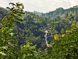 Little Rawana (Ravana) Falls En Route to Ella Rock, the Upper Level of the Popular Falls in Ella Ga Photographic Print by Rob Francis