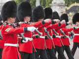 Changing of the Guard at Buckingham Palace, London, England, United Kingdom, Europe Photographie par Marco Simoni