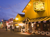Old Fisherman's Grotto Restaurant on Fisherman's Wharf, Monterey, California, United States of Amer Photographic Print by Richard Cummins