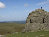 Haytor Rocks, Dartmoor National Park, Devon, England, United Kingdom, Europe Photographic Print by James Emmerson