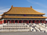 Hall of Supreme Harmony, Outer Court, Forbidden City, Beijing, China, Asia Photographic Print by Neale Clark