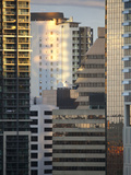 Close-Up of Buildings in City Centre, Brisbane, Queensland, Australia, Pacific Photographic Print by Nick Servian