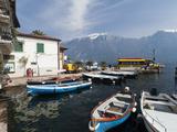 Limone Del Garda, Lake Garda, Lombardy, Italian Lakes, Italy, Europe Photographic Print by Sergio Pitamitz
