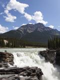 Athabasca Falls, Jasper National Park, UNESCO World Heritage Site, British Columbia, Rocky Mountain Reprodukcja zdjęcia autor Martin Child