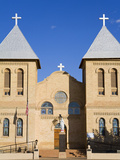 Basilica of St. Albino in Old Mesilla Village, Las Cruces, New United States of America, North Amer Photographic Print by Richard Cummins