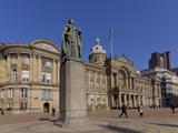 Council House und Victoria Square, Birmingham, Midlands, England, Großbritannien, Europa Fotografie-Druck von Charles Bowman