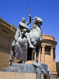 The Offerings of War Statue Outside Art Gallery of New South Wales, the Domain Park, Sydney, New So Photographic Print by Richard Cummins