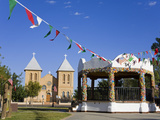 Bandstand in Old Mesilla Village, Las Cruces, New Mexico, United States of America, North America Photographic Print by Richard Cummins