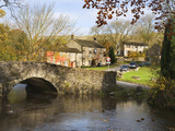 Malham Village in Autumn, Yorkshire Dales, Yorkshire, England, United Kingdom, Europe Photographic Print by Mark Sunderland