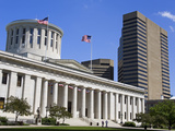 Ohio Statehouse, Columbus, Ohio, United States of America, North America Photographie par Richard Cummins