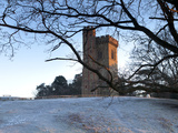 Leith Hill Tower in Frost, Surrey Hills, Highest Point in South East England, Greensand Way, Surrey Photographic Print by John Miller