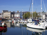 Yachts, the Barbican, Plymouth, Devon, England, United Kingdom, Europe Photographic Print by Jeremy Lightfoot