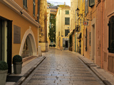Narrow Back Street, St. Tropez, Var, Provence, Cote D'Azur, France, Europe Photographic Print by Peter Richardson