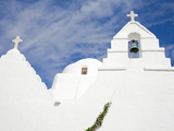 Paraportiani Church in Mykonos Town, Island of Mykonos, Cyclades, Greek Islands, Greece, Europe Photographic Print by Richard Cummins