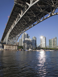 Granville Bridge Spanning False Creek at Granville Island, Vancouver, British Columbia, Canada, Nor Photographic Print by Martin Child