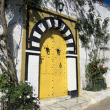 Traditional Tunisian Doorway, Sidi Bou Said, Tunisia, North Africa, Africa Photographic Print by Stuart Black