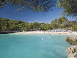 View across the Turquoise Waters of Cala Mondrago, Parc Natural De Mondrago, Near Portopetro, Mallo Photographic Print by Ruth Tomlinson