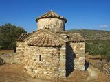 Agio Apostoli, Byzantine Church in the Olive Trees, Naxos, Cyclades Islands, Greek Islands, Greece, Photographic Print by  Tuul