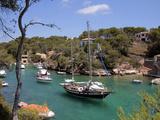 Cala Figuera, Mallorca, Balearic Islands, Spain, Mediterranean, Europe Fotografiskt tryck av Hans-Peter Merten