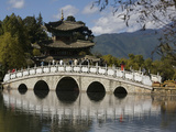 Black Dragon Pool Park, Lijiang, Yunnan, China, Asia Photographic Print by Rolf Richardson
