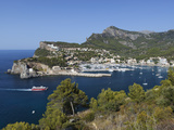 View over Bay and Harbour, Port De Soller, Mallorca (Majorca), Balearic Islands, Spain, Mediterrane Photographic Print by Stuart Black