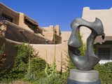 Migration Sculptureby Allan Houser Outside the Museum of Art, Santa Fe, New Mexico, United States o Photographic Print by Richard Cummins