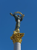 The Independence Monument, Independence Square, Kiev, Ukraine, Europe Photographic Print by Graham Lawrence