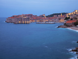 View of Old Town in the Early Morning, Dubrovnik, Croatia, Europe Photographic Print by Martin Child