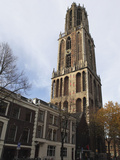 The Dom Tower, Built 1321 and 1382, the Tallest Dutch Church Tower at 112M (368Ft) in Utrecht, Utre Photographic Print by Stuart Forster