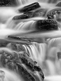 Falls on Logan Creek, Glacier National Park, Montana, United States of America, North America Lámina fotográfica por James Hager