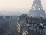 The Eiffel Tower from the Arc De Triomphe, Paris, France, Europe Photographic Print by Martin Child