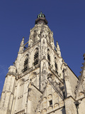 Spire of the Late Gothic Grote Kerk (Onze Lieve Vrouwe Kerk) (Church of Our Lady) in Breda, Noord-B Photographie par Stuart Forster