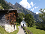 Gerstruben Near Oberstdorf and Mount Hoefats, Allgau, Bavaria, Germany, Europe Photographic Print by Hans-Peter Merten