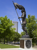 Founder of Franklinton Statue in Genoa Park, Columbus, Ohio, United States of America, North Americ Photographic Print by Richard Cummins