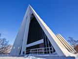 The Arctic Cathedral, Polar Church, Tromso, Troms, North Norway, Scandinavia, Europe Photographic Print by Neale Clark