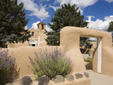 St. Francis De Asis Church in Ranchos De Taos, Taos, New Mexico, United States of America, North Am Fotografie-Druck von Richard Cummins