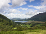 View Towards Bassenthwaite Lake from the Whinlatter Pass Road, Near Keswick, Lake District National Photographic Print by Lee Frost