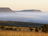 Cloud Layer at Dawn, Mountain Zebra National Park, South Africa, Africa Photographic Print by James Hager