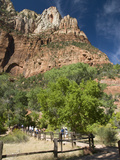 Zion National Park, Utah, United States of America, North America Photographie par Richard Maschmeyer