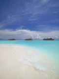 Water Villas in Lagoon, Maldives, Indian Ocean, Asia Photographic Print by Sakis Papadopoulos