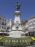 Joaquim Antonio De Aguiar Memorial at the Largo De Portagem Square, Coimbra, Beira Litoral, Portuga Photographic Print by Stuart Forster