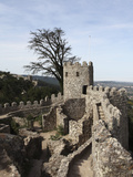 Moorish Castle (Castelo Dos Mouros) Walls and Ramparts, UNESCO World Heritage Site, Sintra, Distric Photographic Print by Stuart Forster