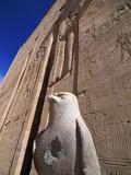 Horus Temple, Edfu, Egypt, North Africa, Africa Photographic Print by Hans-Peter Merten