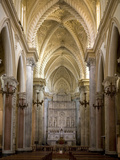 Interior of the Duomo, Erice, Sicily, Italy, Europe Photographic Print by Stuart Black