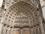 South Porch, Rouen Cathedral, Rouen, Upper Normandy, France, Europe Photographic Print by Nick Servian