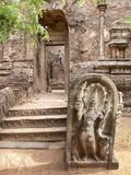Lankatilaka Image House at Polonnaruwa Ruins, UNESCO World Heritage Site, Sri Lanka, Asia Photographic Print by Kim Walker